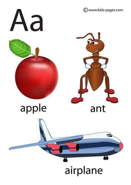 لوحات تعلم الحروف الانجليزية 3