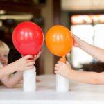 تجربة نفخ البالون